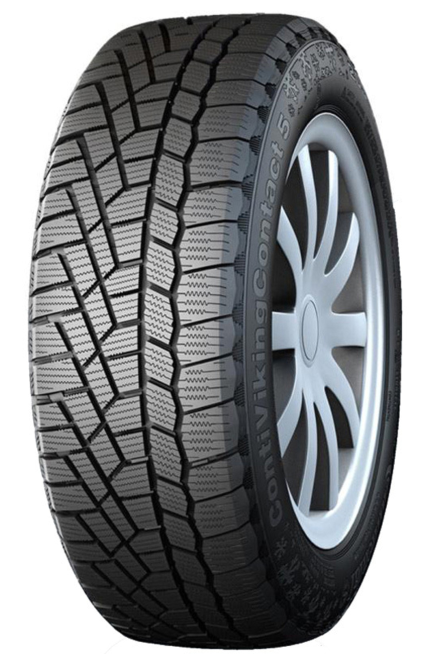CONTINENTAL CONTI VIKING CONTACT 5 215/55R16 XL 97T E|F|2|71 dB Ziemas riepa  E|F|2|71 dB