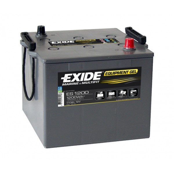 EXIDE EQUIPMENT GEL NATO 110Ah 760A 12V R