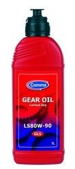 Comma LS80W-90 Limited Slip Gear Oil 80w90 1L